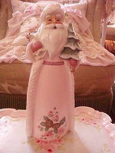 Pink Santa...