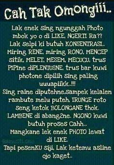 Status Gambar Tulisan Jawa Gambar Jawa Pinterest Humor Womens
