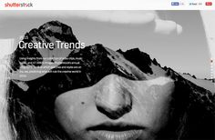 Shutterstock 2015 Creative Trends – Top 10 Websites for Designers – February 2015