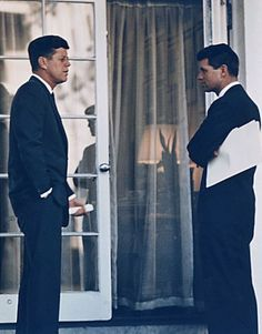 President John Kennedy, left, and Attorney General Robert Kennedy worked very closely together, and Robert Kennedy was his brother's closest adviser during the Cuban Missile Crisis. Robert Kennedy's own presidential aspirations were cut short, however, when he was assassinated on the campaign trail in June 1968.