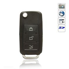 Product Main Features This item is a kind of digital camera which owns motion detection function. Insert a TF card inside the device, you will be able to take photo, video and record audio with it. With the small size, it is very easy to carry. The car key shaped mini DVR is very convenient and ...