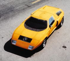 Mercedes-Benz C111 version I experimental sports coupe (1969)