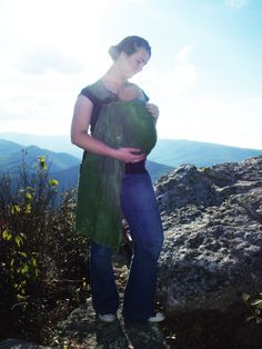 Baby Sling Wrap, Weldfree Rings, Cotton Tie Die.. BEAUTIFUL and affordable baby sling! I've seen this one up close and personal and it's extremely well made.