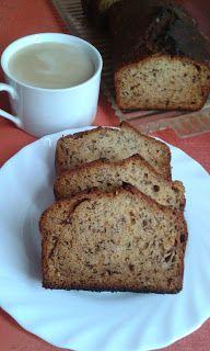Banánkenyér Banana Bread, Breakfast, Food, Yogurt, Meal, Eten, Meals, Morning Breakfast