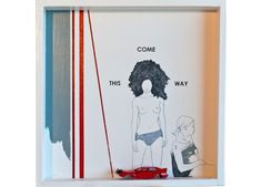 """Won't you love me this way? Come-this-way"", by Jorge Conde. 1.300 euros. On sale at http://coon-art.com"