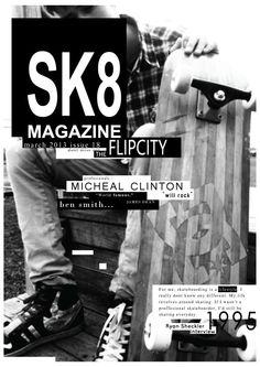 magazine cover # Skateboarding