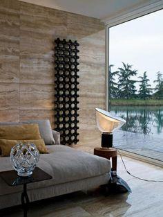#excll #дизайнинтерьера #решения Декор и радиаторы в одном лице