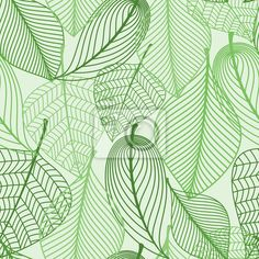 Choose a wall mural  leaf, green, seamless - green leaves seamless pattern. PIXERS wall murals made ​​of great fabrics. Choose artistic photos from our catalog.