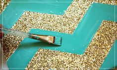 Chevron Wall Art / Ruche Blog   Ruche