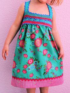 C O R A M O: Genähkeltes Kleid