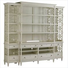 Preserve - Pavillion Media Bookcase in Orchid - 340-25-31 Living room - Stanley Furniture