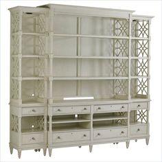 Preserve - Pavillion Media Bookcase in Orchid - 340-25-31 Living room - Stanley Furniture