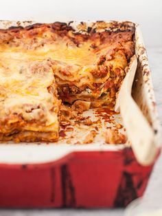 Sausage and Ricotta Lasagna || FoodieCrush