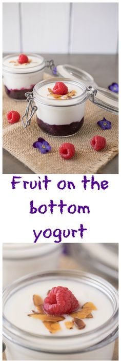 Dress up your morning yogurt with fruit and take it to go with this easy make…