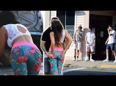 USING MY GIRLFRIEND TO MAKE MONEY! BIG BOOTY BAIT KISSING PRANK! - YouTube