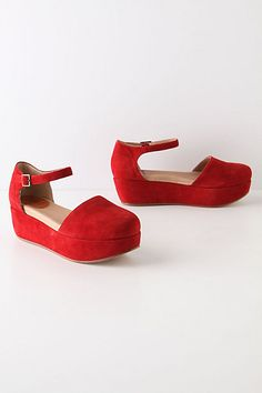 I think every girl needs a pair of red shoes. Being taller and still able to walk is a bonus.