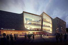 local residents decide between UNStudio and ector hoogstad for dutch theater project