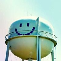 Smiley Face Water Tower  Elroy, TX