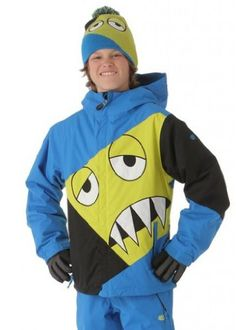 686 Snaggleface Insulated Snowboard Jacket Blue XL Kids >>> Find out more about the great product at the image link.