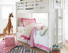 I love the Pottery Barn Kids Shared Safari Bedroom on potterybarnkids.com