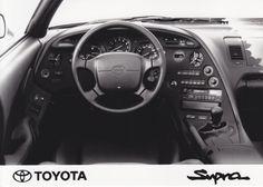 Toyota Supra dashboard (IAA, Frankfurt, 09/93)