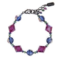 Jewel Tone Multi Ronnie Mae bracelet... stack these for  a rich look~ $48 #bracelets #fall #madeintheUSA