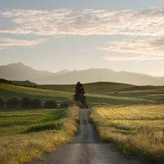open country road #heaven