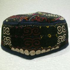 f932915e5e4 1 of a kind Turkoman emroidery hat daily use or to collect detailed  embroidery 9