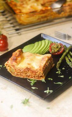 Lasagnes sans Béchamel (légères et authentiques) Lasagna, Healthy Recipes, Healthy Food, French Toast, Food And Drink, Breakfast, Moussaka, Midi, Skinny Lasagna