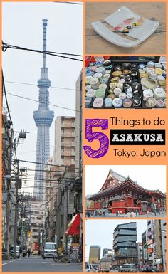 Heading to Tokyo, Japan? Make sure to swing by the neighborhood of Asakusa and check out these 5 great things to do while you are there!