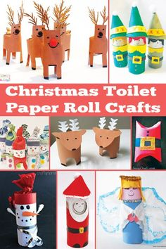 bb posted Christmas Toilet Paper Roll Crafts to their -christmas xmas ideas- postboard via the Juxtapost bookmarklet. Christmas Activities, Christmas Crafts For Kids, Christmas Projects, Holiday Crafts, Holiday Fun, Fun Crafts, Christmas Holidays, Paper Towel Roll Crafts, Toilet Paper Roll Crafts