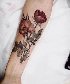 30 Mejores Imagenes De Tatuajes De Flores Para Mujer Artistic