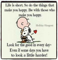 Great words!! Snoopy and Charlie