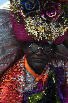 El congo es uno de los disfraces más antiguos del carnaval.