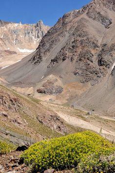Las Leñas. Cordillera de los Andes, Mendoza
