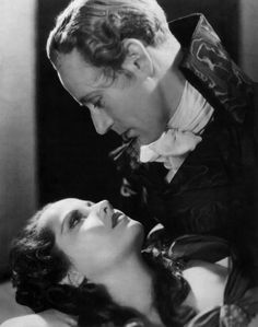 "Merle Oberon and Leslie Howard -- ""The Scarlet Pimpernel""."