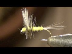 BWO Thorax Fly Tying Instruction and How To Tie Tutorial - YouTube