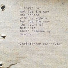 Christopher Poindexter <3