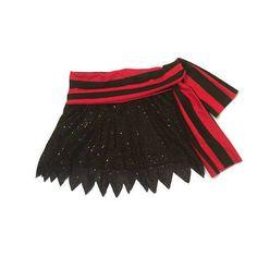 Pirate  Swashbuckler Running Costume sparkle skirt only