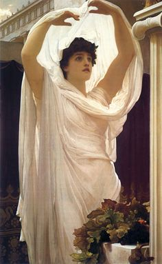 Invocation - Lord Frederic Leighton (1830-1896)
