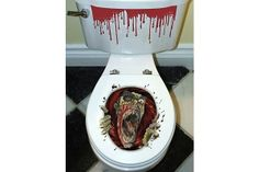 Zombie - Toilet Seat Cling