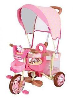 """NEW"" M & M ""Kawaii"" Hello Kitty moco Sanrio Tricycle for baby kids SG mark"