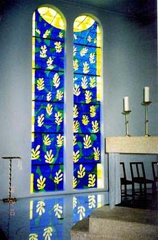 Matisse's Tree of Life - in the Chapel of the Rosary