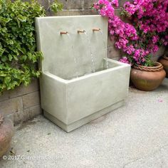 Do you really want to collect details about the top 20 outdoor wall fountains right now?Outdoor Art Pros you can be the required platform which will provide comprehensive information about the top 20 out door wall fountains. Outdoor Wall Fountains, Concrete Fountains, Stone Fountains, Small Fountains, Concrete Garden, Concrete Wall, Yard Water Fountains, Diy Garden Fountains, Modern Fountain