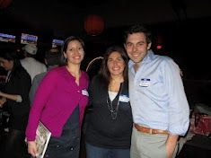 YPAC members Lindsey Miller, Melissa Del Prete and Carson Lappetito at Bowling to Fight MS 2012