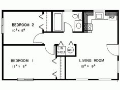 Simple Two Bedrooms House Plans For Small Home : Modern Minimalist House  Design Two Bedroom House Plans | Home Decor That I Like | Pinterest |  Modern ...