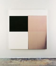 1998 Exposed Painting Payne's Grey, Red Oxide on White Oil on linen | 162.5 x 154.5 cm
