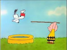 snoopy diving