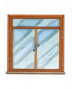 ventana Diorama, Cartoon Art Styles, Windows And Doors, Vocabulary, Fashion Art, Bullet Journal, Clip Art, Mirror, Frame