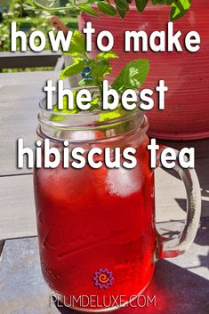 Refreshing Drinks, Summer Drinks, Cold Drinks, Beverages, Iced Tea Recipes, Sangria Recipes, Cocktail Recipes, Hibiscus Juice Recipe, Coquito Drink